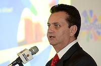 SAO PAULO, 04 DE JULHO DE 2012 - KASSAB SP TURISMO -  Prefeito Gilberto Kassab apresentou hoje novos projetos e balanco semestral da Sao Paulo Turismo, na manha desta quarta feira, no Mercado Municipal, regiao central da capital. FOTO : ALEXANDRE MOREIRA - BRAZIL PHOTO PRESS