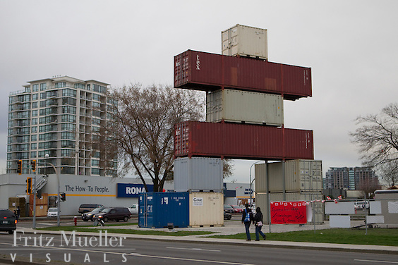 City of Richmond's Container Inuksuk