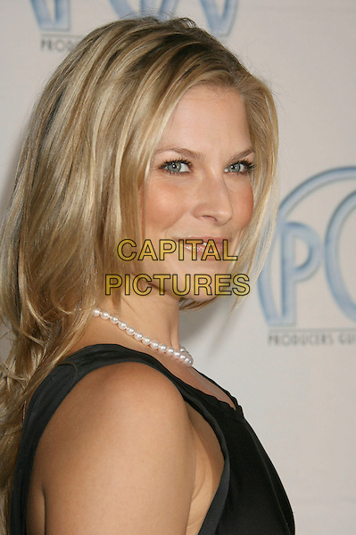 ALI LARTER.19th Annual Producers Guild Awards Arrivals held at the Beverly Hilton Hotel, Beverly Hills, California, USA..February 2nd, 2008.headshot portrait pearl necklace .CAP/ADM/RE.©Russ Elliot/AdMedia/Capital Pictures.
