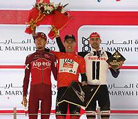 PICTURE BY MARK GREEN/SWPIX.COM ATP  Tour of Abu Dhabi - Yas Island Stage, UAE, 26/02/17<br /> GENERAL CLASSIFICATION<br /> 1 -&nbsp;Rui Alberto Faria da Costa (UAE Abu Dhabi)<br /> 2 - Ilnur Zakarin (Team Katusha Alpecin) at 4&quot;<br /> 3 - Tom Dumoulin (Team Sunweb) at 16&quot;