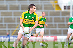 Mike Coakley in action against Limerick in the Munster Junior Championship Semi final held in the Gaelic Grounds last Saturday.
