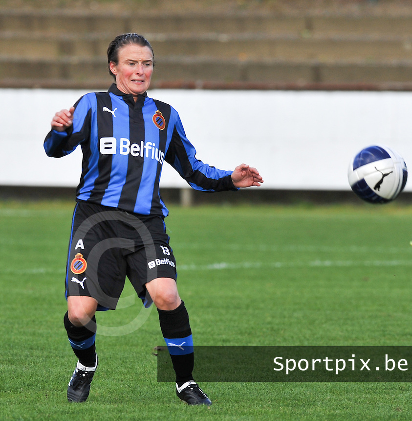 Club Brugge Dames - WD Lierse SK : Christine Saelens.foto DAVID CATRY / Vrouwenteam.be