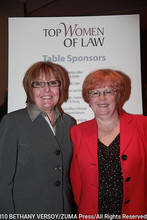 12/3/10- BOSTON, MA.Lawyers Weekly - Top Women of Law