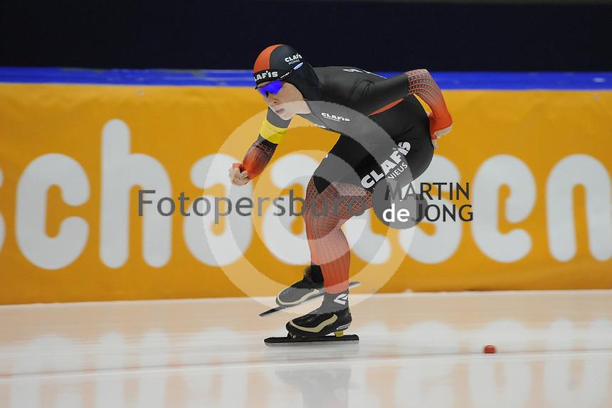 SCHAATSEN: HEERENVEEN: 25-10-2014, IJsstadion Thialf, Trainingswedstrijd schaatsen, Antoinette de Jong, ©foto Martin de Jong
