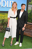 Hannah Cooper and Joel Dommett at the &quot;Christopher Robin&quot; European film premiere, BFI Southbank, Belvedere Road, London, England, UK, on Sunday 05 August 2018.<br /> CAP/CAN<br /> &copy;CAN/Capital Pictures