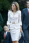 Queen Letizia of Spain during the commemoration of the 25th anniversary of Ibero-American summits. October 10, 2016.(ALTERPHOTOS/Acero)