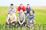 GOLF: Enjoying their game of Golf in Castlegregory on Saturday. Front l-r: Noel McCoy, Mossie Hogan and Alan Herbert. Back l-r: Craig Henry, Aidan O'Sullivan and Ross O'Sullivan...