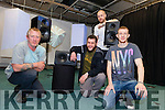 Fourth Year students from the Creative Media department in the IT, Tralee with their final year project Projection Mapping and 5.1 Surround Sound Installation. Pictured were: Declan Cleary, Steven Clune, Hubert kloskowski and Michael Beckett.