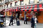 PARIS - FRANCE - 15 APRIL 2004--The fine food shop Hediard at Place de la Madeleine.-- PHOTO: ERIK LUNTANG / EUP-IMAGES