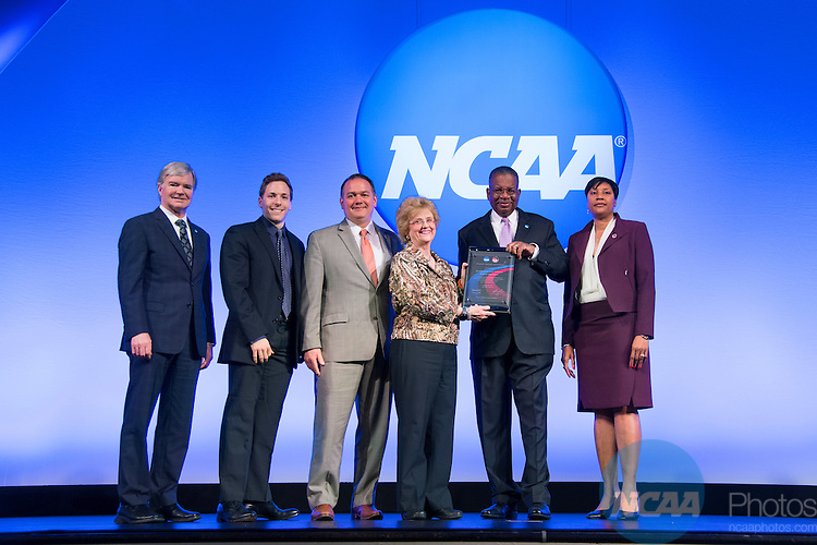 20 JAN 2017: The NCAA Association Luncheon takes place during the 2017 NCAA Convention at the Gaylord Opryland Resort and Convention Center in Nashville, TN.  Jamie Schwaberow/NCAA Photos  (Pictured:  Bowling Green)