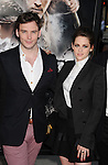 LOS ANGELES, CA - MAY 29: Sam Claflin and Kristen Stewart arrive at the 'Snow White And The Huntsman at Westwood Village on May 29, 2012 in Los Angeles, California.