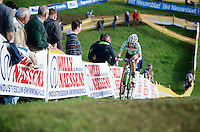 Sophie De Boer (NLD) leading the race<br /> <br /> GP Mario De Clercq<br /> Hotondcross 2014