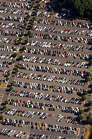 Aerial photo of parking taken at Charlotte Douglas Intl Airport taken May 2008.