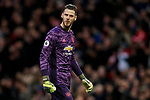 David De Gea of Manchester United during the Premier League match at Old Trafford, Manchester. Picture date: 11th January 2020. Picture credit should read: James Wilson/Sportimage