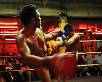 Kickboxing in Pattaya, Thailand.