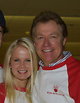 "Guiding Light's Crystal Hunt (Lizzie)and Jerry verDorn (Ross) at the ""Bloss"" Bowling Event during the Guiding Light weekend on October 15, 2005 at the Port Authority, NY (Photo by Sue Coflin)"