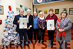 "Ballybunion Active Retitememt: John McGrath launching the Ballybunion Active Retirement calendar ""Still Having the Craic"" at the Old Convent, Doon Rd. Ballybunion on December 4th last. l-r: John McGrath, Martina Reid, Brendan O'Regan, Christina Hellard, Peggy Murphy and Geraldine Scanlan."