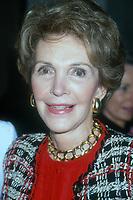 Nancy Reagan, 1992, Photo By Michael Ferguson/PHOTOlink