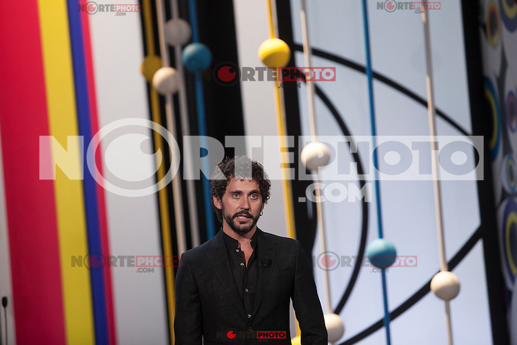 Paco Leon during the 63rd Donostia Zinemaldia opening ceremony (San Sebastian International Film Festival) in San Sebastian, Spain. September 18, 2015. (ALTERPHOTOS/Victor Blanco) /NortePhoto.com