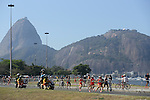 General view, <br /> AUGUST 14, 2016  - Marathon : <br /> Women's Marathon <br /> at Sambodromo <br /> during the Rio 2016 Olympic Games in Rio de Janeiro, Brazil. <br /> (Photo by YUTAKA/AFLO SPORT)