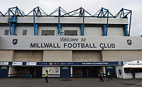 A general view of The Den, home of Millwall FC <br /> <br /> Photographer Jon Hobley/CameraSport<br /> <br /> The EFL Sky Bet Championship - Millwall v Preston North End - Saturday 13th January 2018 - The Den - London<br /> <br /> World Copyright &copy; 2018 CameraSport. All rights reserved. 43 Linden Ave. Countesthorpe. Leicester. England. LE8 5PG - Tel: +44 (0) 116 277 4147 - admin@camerasport.com - www.camerasport.com