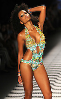 MEDELLêN -COLOMBIA-24-JULIO-2013.Pasarela  Babalœ vestidos de ba–o . Babalu Gateway swimwear<br /> Photo: VizzorImage/ Javier Jaramillo  / Stringer