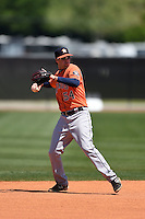 Houston Astros Thomas Lindauer (54) during a minor league spring training game against the Atlanta Braves on March 29, 2015 at the Osceola County Stadium Complex in Kissimmee, Florida.  (Mike Janes/Four Seam Images)