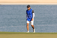 Nacho Garrido (ESP) during the first round of the Ras Al Khaimah Challenge Tour Grand Final played at Al Hamra Golf Club, Ras Al Khaimah, UAE. 31/10/2018<br /> Picture: Golffile | Phil Inglis<br /> <br /> All photo usage must carry mandatory copyright credit (&copy; Golffile | Phil Inglis)