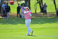 PATTAYA, THAILAND - FEBRUARY 22: Ariya Jutanugarn of Thailand 2nd shot on the 5th fairway during the second round of the Honda LPGA Thailand 2019 at Siam Country Club Pattaya (Old Course), Pattaya, Thailand on February 22, 2019.<br /> .<br /> .<br /> .<br /> (Photo by: Naratip Golf Srisupab/SEALs Sports Images)<br /> .<br /> Any image use must include a mandatory credit line adjacent to the content which should read: Naratip Golf Srisupab/SEALs Sports Images