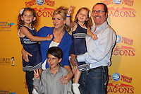 Alexis Bellino and family at the opening night of Ringling Bros. &amp; Barnum &amp; Bailey's 'Dragons' held at Staples Center on July 12, 2012 in Los Angeles, California. &copy;&nbsp;mpi27/MediaPunch Inc /*NORTEPHOTO*<br />