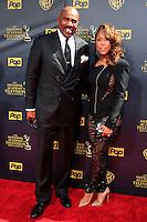 BURBANK - APR 26: Steve Harvey, wife Eloise at the 42nd Daytime Emmy Awards Gala at Warner Bros. Studio on April 26, 2015 in Burbank, California