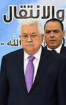 Palestinian President Mahmoud Abbas attends the meeting of the Palestinian Central Council in the West Bank city of Ramallah on August 15, 2018. Photo by Thaer Ganaim