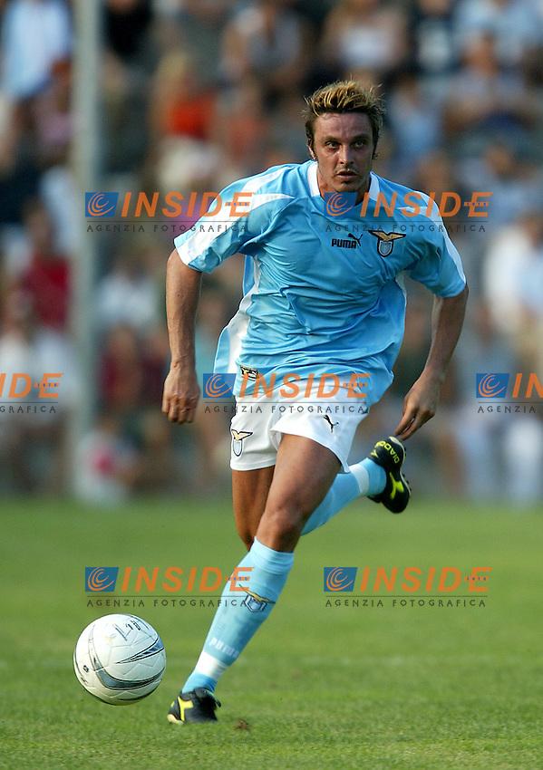 Norcia 6/8/2003<br /> Lazio - Foolad Mobarakeh (Iran) 4-1 <br /> Massimo Oddo <br /> Foto Andrea Staccioli Insidefoto
