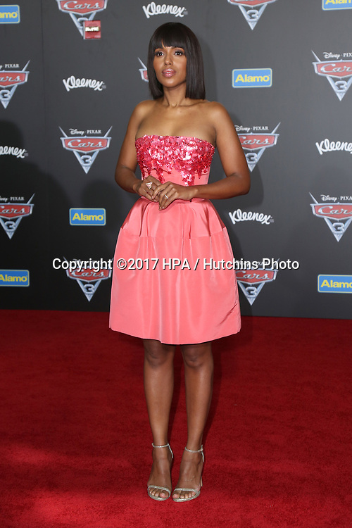 "LOS ANGELES - JUN 10:  Kerry Washington at the ""Cars 3"" Premiere at the Anaheim Convention Center on June 10, 2017 in Anaheim, CA"