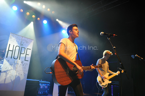 LONDON, ENGLAND - SEPTEMBER 1: Blake Richard Richardson of 'New Hope Club' performing at Shepherd's Bush Empire on September 1, 2016 in London, England.<br /> CAP/MAR<br /> &copy;MAR/Capital Pictures /MediaPunch ***NORTH AND SOUTH AMERICAS ONLY***