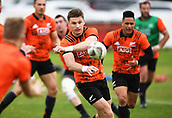 14th September 2017, Alexandra Park, Auckland, New Zealand; New Zealand Rugby Training Session;  Beauden Barrett