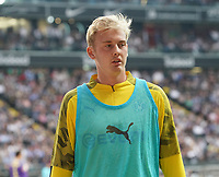 Julian Brandt (Borussia Dortmund) wärmt sich auf - 22.09.2019: Eintracht Frankfurt vs. Borussia Dortmund, Commerzbank Arena, 5. Spieltag<br /> DISCLAIMER: DFL regulations prohibit any use of photographs as image sequences and/or quasi-video.
