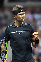 FLUSHING NY- AUGUST 31: Rafael Nadal Vs Taro Daniel on Arthur Ashe Stadium during the US Open at the USTA Billie Jean King National Tennis Center on August 31, 2017 in Flushing Queens. Credit: mpi04/MediaPunch