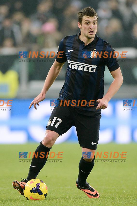 Zdravko Kuzmanovic Inter<br /> Torino 02-02-2014 Juventus Stadium - Football 2013/2014 Serie A. Juventus - Inter Foto Giuseppe Celeste / Insidefoto