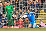 Steven Fletcher of Sunderland appeals for a penalty - Bradford City vs. Sunderland - FA Cup Fifth Round - Valley Parade - Bradford - 15/02/2015 Pic Philip Oldham/Sportimage