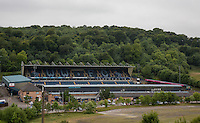 General view of Wycombe Wanderers Stadium, Adams Park, High Wycombe, Bucks, England on 12 July 2015. Photo by Andy Rowland.