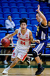 Tsang Cham Yuen #24 of Nam Ching Basketball Team goes to the basket against the Winling during the Hong Kong Basketball League game between Nam Ching vs Winling at Southorn Stadium on May 11, 2018 in Hong Kong. Photo by Yu Chun Christopher Wong / Power Sport Images