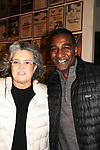 "All My Children's Norm Lewis as ""Harold Hill"" and Rosie O'Donnell as ""Mrs. Paroo"" star in the musical The Music Man at the Eisenhower Theater at the  John F. Kennedy Center for the Performing Arts, Washington D.C. in a sold out run and photos were taken on February 10, 2019 in the green room.  (Photo by Sue Coflin/Max Photo)"
