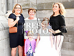 Saoirse Coughlan from Aston Village Educate Together who recieved first holy communion in St Peters church West street with mother Roisin, grandmother Kathleen, sister Soibhan and cousin Claire. Photo:Colin Bell/pressphotos.ie