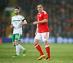 David Vaughan of Wales during the international friendly match at the Cardiff City Stadium. Photo credit should read: Philip Oldham/Sportimage