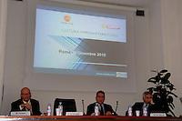 """20 dicembre 2010 Federculture.Presentazione della ricerca """"Cultura impresa e territorio"""" Roberto Grossi..."""