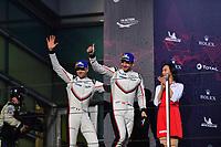 #91 PORSCHE GT TEAM (DEU) PORSCHE 911 RSR GTE PRO RICHARD LIETZ (AUT) GIANMARIA BRUNI (ITA) SECOND LMGTE PRO