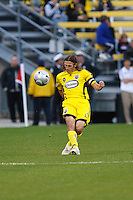 25 OCTOBER 2009:  Frankie Hejduk during the New England Revolution at Columbus Crew MLS game in Columbus, Ohio on October 25, 2009.