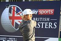 Thorbjorn Olesen (DEN) during the Hero Pro-Am at the Sky Sports British Masters, Walton Heath Golf Club, Surrey, England. 7-10-2018.<br /> Picture Fran Caffrey / Golffile.ie<br /> <br /> All photo usage must carry mandatory copyright credit (© Golffile | Fran Caffrey)