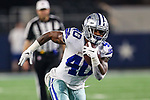 Dallas Cowboys running back Mike Weber (40) in action during the pre-season game between the Tampa Bay Buccaneers and the Dallas Cowboys at the AT & T Stadium in Arlington, Texas.